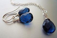 SET Save 10 bucks Sapphire Quartz Spiral Wrap by SueanneShirzay