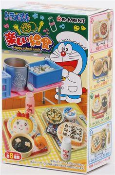 Doraemon School Lunch Re-Ment miniature blind box 2