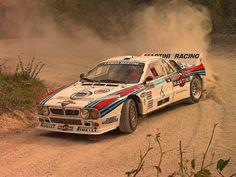 Lancia 037 rally car - Group B Rallye Automobile, Le Mans 24, Martini Racing, Lancia Delta, Rally Car, Vintage Racing, Courses, Fast Cars, Sport Cars
