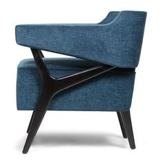 The Colnbrook Chair has a beautiful angular shape and a strong design aesthetic. The structure of the chair contrasts beautifully with the solid and comfortable seat. This would look stunning in a pair or as a one-off statement chair in a living room, bed Luxury Home Furniture, Cool Furniture, Furniture Design, Dinning Chairs, Living Room Chairs, Sofa Design, Interior Design, Bentley Furniture, Luxury Sofa