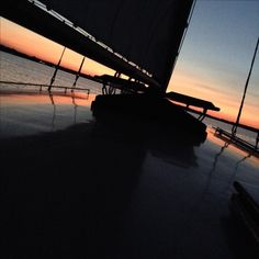 Can you beat this sunset? For romance, relaxation, and an authentic experience climb aboard the 3 generation family yacht Sail Selina II, St Michaels MD