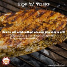 How to grill a fish without allowing it to stick to grill Vegetarian Biryani, Mutton Korma, Chettinad Chicken, Marinated Lamb, Food On Sticks, Country Chicken, Vegetable Seasoning, Grilled Fish, Chicken Tikka
