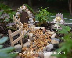 Make a Fairy Garden - from the furniture to the fairies!