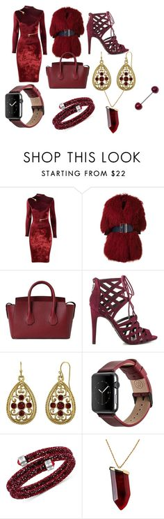 """""""heartbreaker"""" by moriahluvvsu ❤ liked on Polyvore featuring Agent Provocateur, Christian Dada, Bally, G by Guess, 1928, Monowear, Swarovski and Kenneth Jay Lane"""