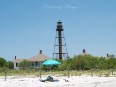 Beautiful Lighthouse Photography Sunny Beach 8x10 by HeavenlyWings, $25.00