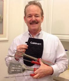 I won this Cuisinart 3-Piece Grilling Tool Set with Glove worth $38- for only 1 cent on #DealDash, with just 2 Bids.  Cookin Up Something Good! Thanks DealDash for another great deal! See how much you can save at www.dealdash.com/join.php?utm_source=customer20testimonials&utm_medium=pictures&utm_campaign=facebook