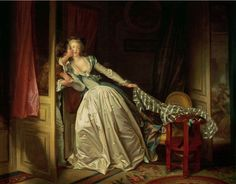 Jean Honore Fragonard 1732-1806 FR - Le baiser volé (1786-1788)