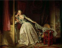 Le Baiser à la dérobée, Fragonard 1780