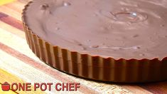 NEW VIDEO: GIANT Chocolate Peanut Butter Cup! Watch the full recipe video here:  https://youtu.be/AfC_uIOs408