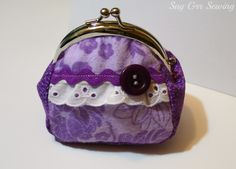 Remember the purple and pink coin purses I made?  I scanned my pattern in, cleaned it up a bit, and have it ready for you to use! ...