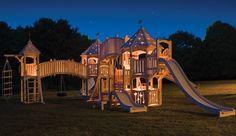 Cadyn's dream swing set. :)