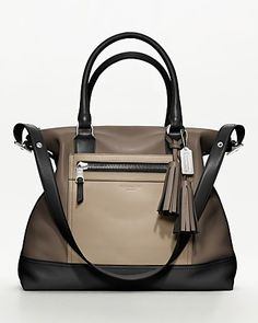 01ce7179e9d5 COACH Legacy Colorblock Leather Rory Satchel Handbags - All Handbags -  Bloomingdale s