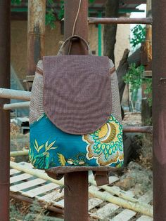 upcycled backpack, canvas back packs for women, college backpack, birthday gifts for her, for sister, for girlfriend  A large backpack in a curved feminine cut, with a round elegant design and lots of space.  ** USAGE ** The urban backpack is suitable for documents, laptops and other important stuff that every woman carries.  ** SPECIFICATIONS ** Features: + Wide adjustable shoulders straps to fit any height. + 3 front slip pockets + one internal pocket which closes with a Velcro snap. + The…