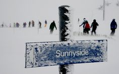 UK weather blizzard -  Blizzard conditions forced the closure of Glenshee Ski Centre, Aberdeenshire
