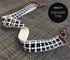 How to Make an Adjustable Strap