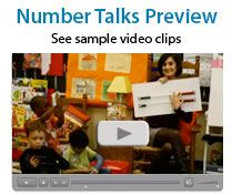 Love, love, love Number Talks. Check out Marilyn Burn's website that shows clips of talks in classrooms.  Shop around for the book.
