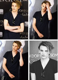 Jamie Campbell Bower. Is it just me or does he resemble Johnny Depp when he was young in that last photo??