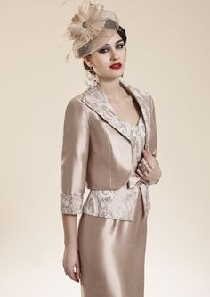 Zeila 3018635 - Nude/Light Gold Mother Of The Bride Outfit