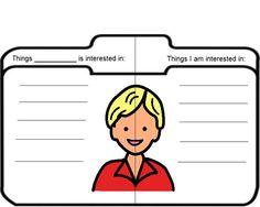 Boardmaker Achieve:  Friend file visuals