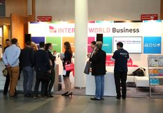 Der Messestand der INTERNET WORLD Busniness