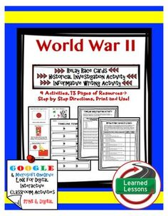 an overview of the events leading to world war ii There were many events throughout the world this created unstable governments and worldwide turmoil that helped lead to world war ii overview: world war ii.