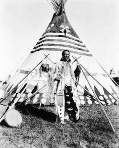 Big Kidney (aka Herbert Lawrence) - Blackfoot - circa 1910