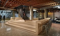 Heavybit is a San Francisco-based coworking space, built for post-seed funded startups and companies that develop interestingtechnology products. The space is located in San Francisco's SoMa neighborhood and was designed ... Read More