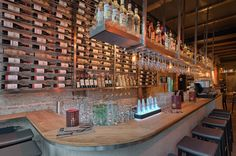 1480 Food Alkmaar http://www.estida.nl/portfolio-posts/1480-food-2/ #design #winebar #ESTIDA