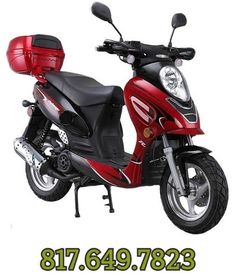 X-PRO Moped Scooter Adults Scooter Gas Moped Fully Assembled and Tested with Gloves, Goggle and Handgrip 50cc Scooter For Sale, Scooter 50cc, Scooters For Sale, Electric Skateboard, Electric Scooter, Gas Moped, Thing 1, Engine Types