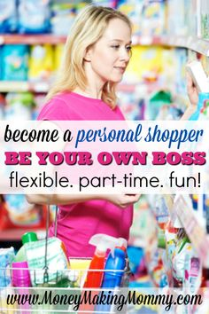 Become a personal shopper as your next career. Helpful advice for the personal shopper wannabe. How to begin your career and gain new clients. Personal Shopper App, Personal Shopping, Home Based Business, Online Business, Business Ideas, Business Essentials, Business Planning, Mystery Shopper, Work From Home Moms