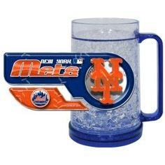 New York Mets Crystal Freezer Mug