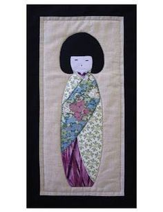 I love Asian culture. This little Miss is so simple yet elegant. Solo Patchwork: