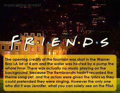 17 Crazy Facts About 'Friends' That Will Remind You Why It's Your Favorite Show Friends Tv Quotes, Friends Scenes, Friends Moments, Friends Tv Show, Funny Friends, First Episode Of Friends, Friends Episodes, Wow Facts, Weird Facts