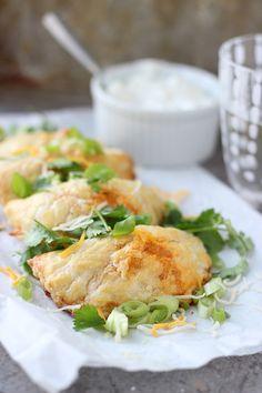 Chicken Enchilada Empanadas -=- WOW All These Goodies & Portable, Let's Make These Soon & Often !!
