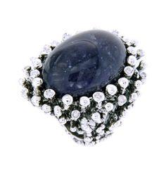 Daniela de Marchi Made in Italy jewelry Diamonds and Sodalite