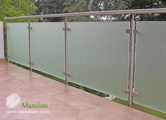 Deck Railing with Tempered Glass - China Handrail, hereditary Balcony Glass Design, Glass Balcony Railing, Balcony Railing Design, Glass Stairs, Exterior Stair Railing, Modern Stair Railing, Staircase Railings, Glass Handrail, Glass Balustrade