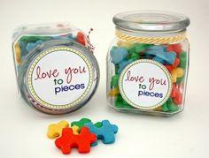 LOVE these puzzle piece cookies! by 4seasons nursery heidelberg