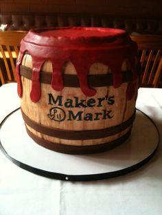 Makers Mark Cake http://www.cakesbyjane.com/cms/Home.php