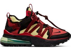 3a3b3979b68e NIKE AIR MAX 270 BOWFIN BLACK UNIVERSITY RED  ZITRON SIZE 11 US Men s  Trainers