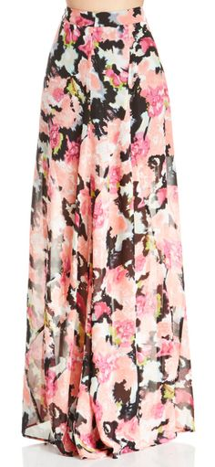 Endless Blooming Rose Maxi Skirt - New Arrivals - Retro, Indie and ...