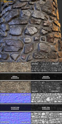 Stone wall 14. A seamless stone wall texture from www.CrazyTextures.com  This and other my textures you can find on the UE Marketplace: https://www.unrealengine.com/marketplace/38-architectural-textures