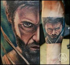 Wolverine tattoo recep altunkilic yalova