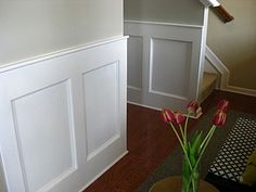 eat. sleep. decorate.: {entryway} boxed molding