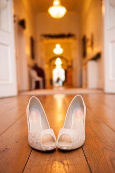 Gorgeous wedding shoes. Weddings by KARA - Castle Durrow - Ireland - Wedding Photography