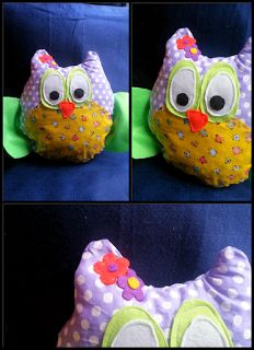 Κουκουβά κουκουβά Owls, Cotton Fabric, Lunch Box, Handmade, Hand Made, Owl, Cotton Textile, Craft, Tawny Owl