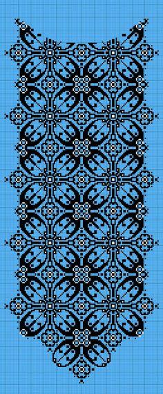 Cross Stitch Borders, Modern Cross Stitch, Cross Stitch Flowers, Counted Cross Stitch Patterns, Cross Stitch Designs, Cross Stitching, Cross Stitch Embroidery, Border Embroidery Designs, Embroidery Patterns Free