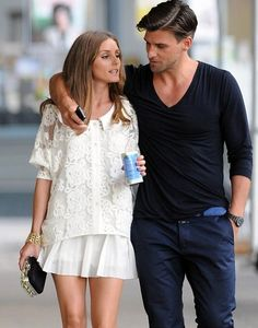 ENGAGED: Olivia Palermo & German model Johannes Huebl
