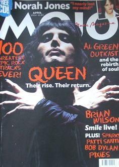 Mojo The Music Magazine, Issue 125, April 2004 (Queen cover) by Queen. Sold my copy to someone in Vancouver, Canada.
