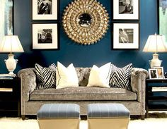 Adore the deep wall color and black accents!      This Blog      Linked From Here     Fabulous Blogs          Monday, July 30, 2012  Perfectly Balanced