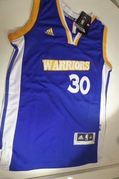 214fe79e0 Stephen Curry  30 Golden State Warriors Swingman Adidas Blue White Mens  Jersey  adidas